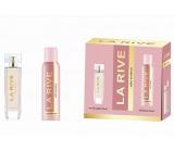 La Rive Sweet Woman toaletná voda pre ženy 90 ml + dezodorant sprej 150 ml, darčekový set