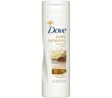 Dove Purely Pampering Bambucké maslo a vanilka telové mlieko pre všetky typy pleti 250 ml
