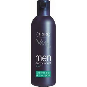 Ziaja Men sprchový gel a šampon na vlasy 2v1 300 ml