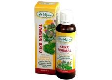 Dr. Popov Cukor Normal originálne bylinné kvapky pre správnu hladinu cukru v krvi 50 ml