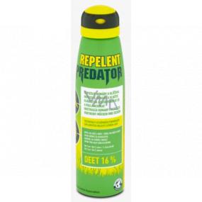 Predator Repelent DEET 16% repelentný sprej odpudzuje komáre a kliešte 150 ml