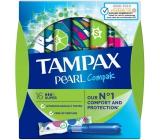 Tampax Compak Pearl Super dámske tampóny s aplikátorom 16 kusov