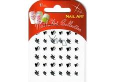 Absolute Cosmetics Nail Art samolepiace nálepky na nechty 10100-8 1 aršík