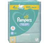Pampers Fresh Clean vlhčené obrúsky pre deti 4 x 80 kusov