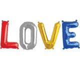 Albi Nafukovacie text Love 49 cm