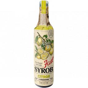 Kitl Syrob Bio Citrón s dužinou sirup pre domáce limonády 500 ml