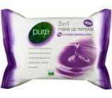Pure 3v1 Odličovacie vlhčené obrúsky 25 kusov