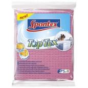 Spontex Top Tex víceúčelová houbová utěrka 5 kusů