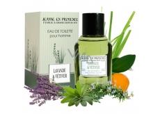 Jeanne en Provence Men Lavande & vetiver - Lavande & Citrónová tráva toaletná voda 100 ml