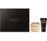 Gucci Guilty toaletná voda pre ženy 50 ml + telové mlieko 100 ml, darčeková sada