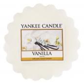 Yankee Candle Vanilla - Vanilka vonný vosk do aromalampy 22 g