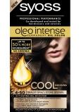 Syoss Oleo Intense Color barva na vlasy bez amoniaku 4-50 Tmavý ledově hnědý