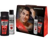 Dermacol Men Agent Sexy Sixpack sprchový gél 250 ml + antiperspirant sprej 150 ml, kozmetická sada