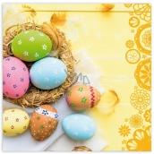 PAP.UBR.velikon.3vr.20ks žlté ošatka s vajíčkami 0505