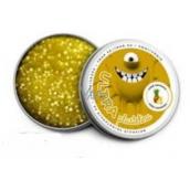 EP line Inteligentná Ultra plastelína s vôňou Ananásu as glitrami 80 g