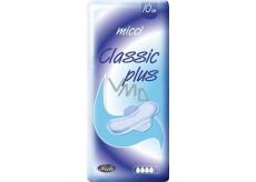 Micci Classic Plus intimní vložky s křidélky 10 kusů