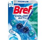 Bref Blue Water Color Aktiv Eucalyptus WC blok na hygienickú čistotu a sviežosť Vašej toalety, obarvuje vodu do modrého odtieňa 50 g