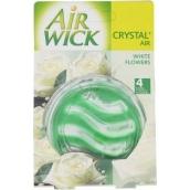 Air Wick Crystal Air Biele kvety osviežovač vzduchu 5,75 g
