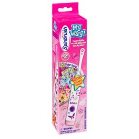Spinbrush My Way Girl dětský zubní kartáček pro dívky