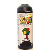 Kittfort Color Line tekutá maliarska farba Čierna 100 g