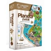 Albi Kúzelné čítanie interaktívne hovoriace puzzle Planéta zvierat