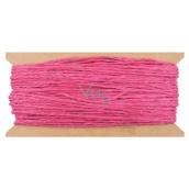 Povrázok papierový ružový 30 m