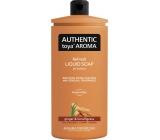 Authentic Toya Aróma Ginger & Lemongrass tekuté mydlo náhradná náplň 600 ml