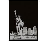 Ditipo Zošit City Gold Collection A4 linajkový New York 21 x 29,5 cm 3421001