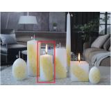 Lima Kvetinová sviečka žltá valec 50 x 100 mm 1 kus