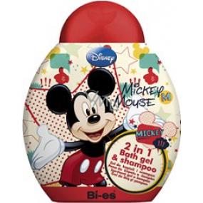 Disney Mickey Mouse 2v1 sprchový gél do kúpeľa a šampón 250 ml
