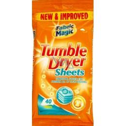 fabric magic tumble dryer sheets v n do su i ky vlh en ubrousky 40 kus vmd drogerie. Black Bedroom Furniture Sets. Home Design Ideas