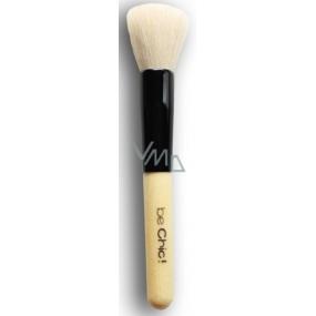 Be Chic! Professional White B 03 kosmetický štětec na tvářenku, přírodní kozí vlas 15,7 cm