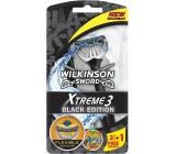 Wilkinson Xtreme 3 Black Edition holiaci strojček pre mužov 4 kusy