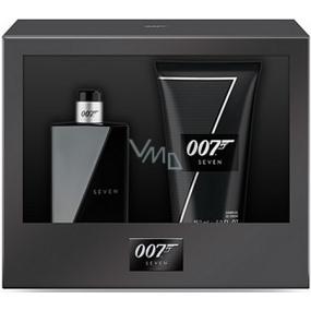 James Bond 007 Seven toaletní voda pro muže 30 ml + sprchový gel 50 ml dárková sada