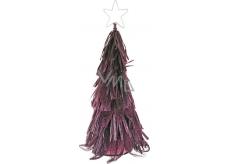 Stromček z abaky fialový 30 cm