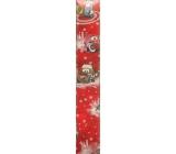 Ditipo Vánoční balicí papír dětský červený Disney Cars typ 9 100 x 70 cm 2054909 2 kusy
