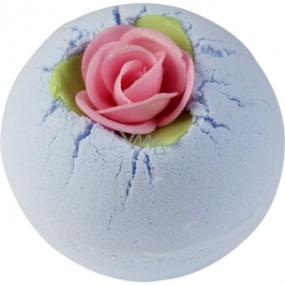 Bomb Cosmetics Porcelánová pivonka Šumivý balistik do kúpeľa 160 g