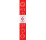 Vonné tyčinky Prvá čakra Červená 14 kusov