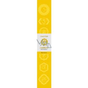 Vonné tyčinky Tretia čakra Žltá 14 kusov