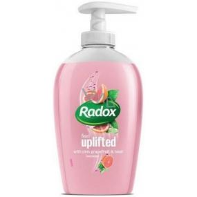 Radox Feel Uplifted Pink grapefruit & Basil tekuté mydlo dávkovač 250 ml
