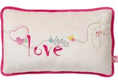 Nici Love vankúš 43 x 25 cm