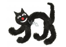 Mačka čierna na postavenie 10 cm