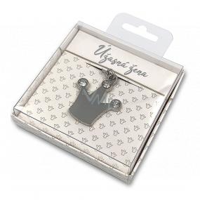 Nekupto Darčeková kľúčenka pre šťastie Úžasná žena 4 cm