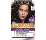 Loreal Paris Excellence Cool Creme farba na vlasy 3.11 Ultra popolavá tmavá hnedá