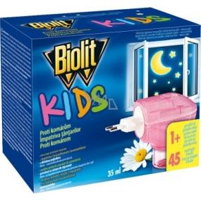 Biolit Kids Elektrický odparovač proti komárom 35 ml