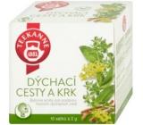 Teekane Dýchacie cesty a krk bylinný čaj nálevové sáčky 10 x 2 g