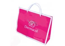 DARČEK Dermacol papierová taška - magenty s bielym logom