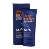 Piz Buin Mountain Suncream SPF30 hydratačný krém chráni pokožku pred slnkom, chladom a suchým vetrom 50 ml
