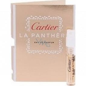 Cartier La Panther toaletná voda pre ženy 1,5 ml s rozprašovačom, vialka