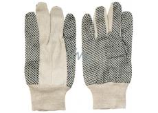 Spokar Bavlna s terčíkmi rukavice pracovnou 1 pár